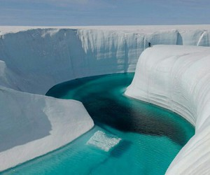 ice, greenland, and nature image