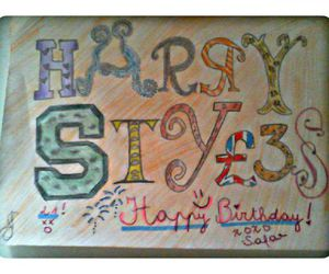 diy, happy birthday, and one direction image