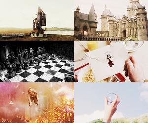 hogwarts and home image