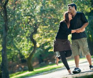couple, happy, and love image