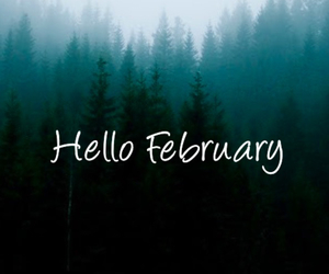 february, 2015, and hello image