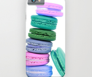 foodie, macarons, and phone case image