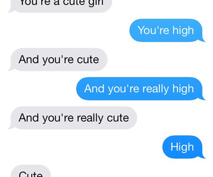 boy, high, and text image