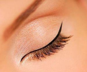 eye, eyeliner, and inspiration image