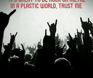 concert, metal, and plastic image