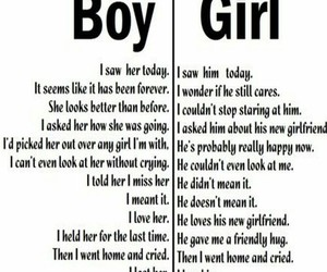 boys, break up, and feels image