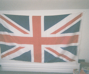 england, flag, and indie image