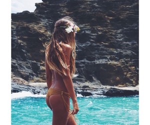 girl, summer, and beautiful image