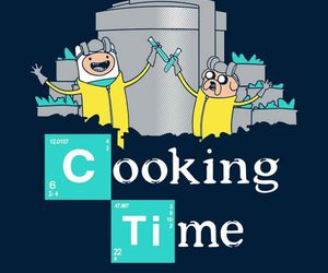 adventure time, breaking bad, and JAKe image