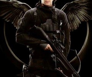 gale, mockingjay, and the hunger games image