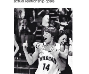 high school musical, zac efron, and couple image