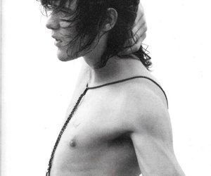 andrew vanwyngarden, black and white, and boy image