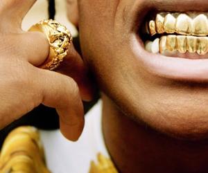 fashion, rings, and teeth image