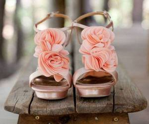 blume, pink, and schuhe image