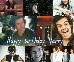 21, happy birthday, and Harry Styles image