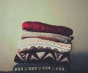 sweater, winter, and clothes image