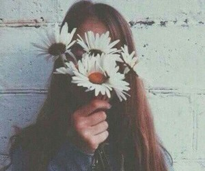 hidding, madness, and white flowers image