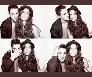 Jessica Lowndes, michael trevino, and couple image