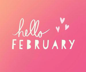 february, love, and month image