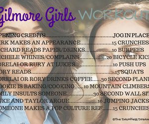 gilmore girls and workout image