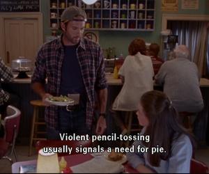LUke, pie, and rory image