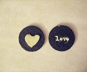 love, oreo, and heart image
