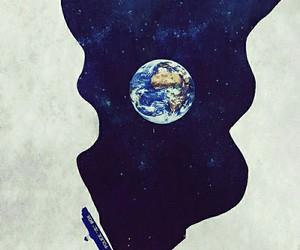tardis, doctor who, and earth image