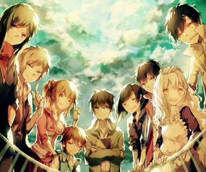 kagerou project and anime image