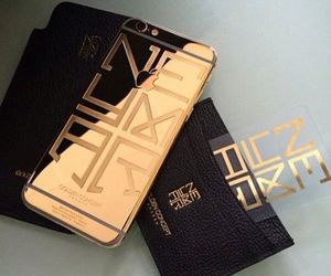 iphone, gold, and neymar image