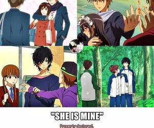 anime, ao haru ride, and mine image