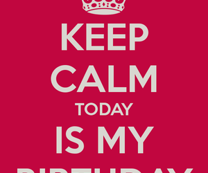 birthday, happy, and keep calm image
