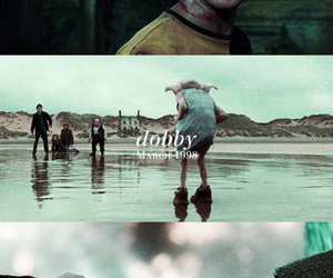dobby, harry potter, and fred weasley image
