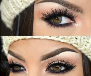 eyes, makeup, and eye makeup image