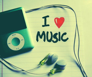 music, love, and ipod image