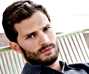 Jamie Dornan, christian grey, and anastasia steele image