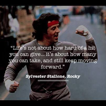 rocky, life, and quotes image