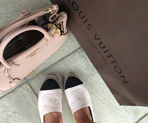 chanel, fashion, and Louis Vuitton image
