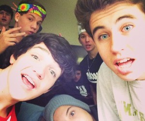 nash grier, taylor caniff, and aaron carpenter image