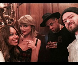 justin timberlake, taylow swift, and beyoncé image