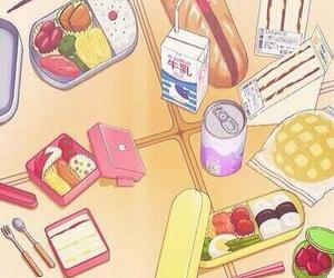 food, anime, and kawaii image