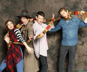 matt smith, arthur darvill, and doctor who image