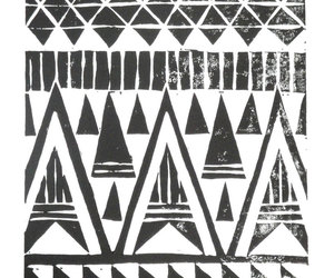 art, black and white, and tribal image