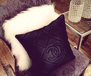 chanel, luxury, and pillow image