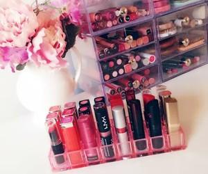 lipstick, makeup, and girly image