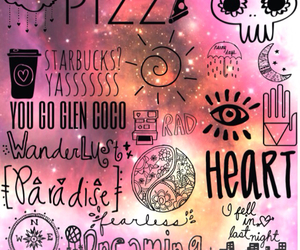 compass, hippie, and mean girls image