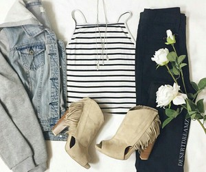 outfit, fashion, and inspiration image