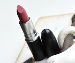 brave, lipstick, and mac image