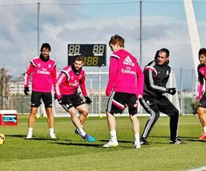 football, training, and real madrid image