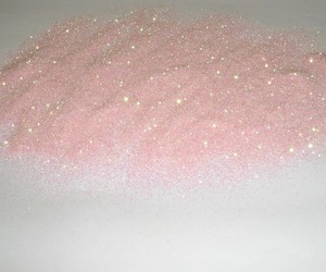 pink, glitter, and pale image