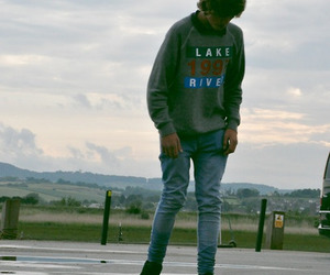 boy, skate, and hipster image